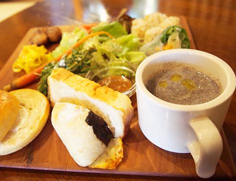 パンとカフェ 花麦